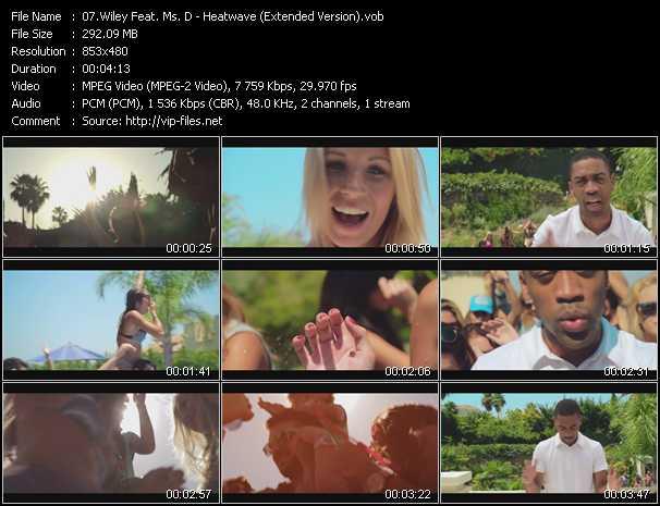 Wiley Feat. Ms. D video screenshot