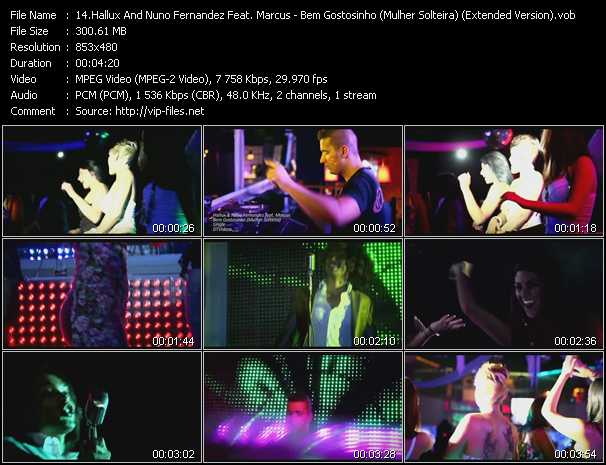 Hallux And Nuno Fernandez Feat. Marcus video screenshot