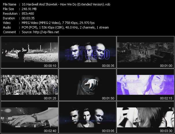 Hardwell And Showtek video screenshot