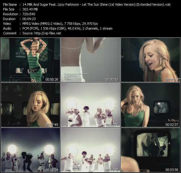 Milk And Sugar Feat. Lizzy Pattinson video screenshot