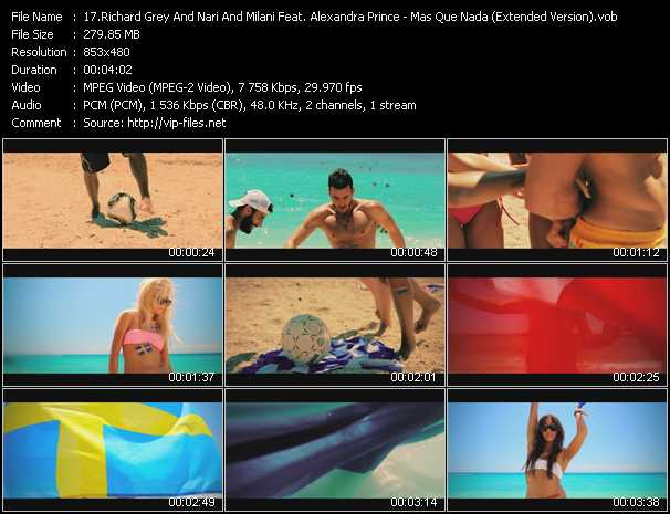 Richard Grey And Nari And Milani Feat. Alexandra Prince video screenshot