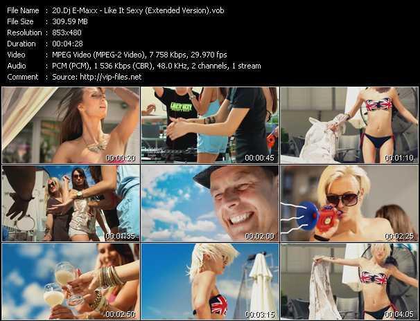 Dj E-Maxx video screenshot