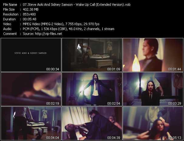 Steve Aoki And Sidney Samson video screenshot