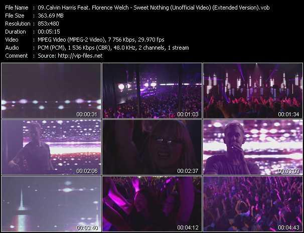 Calvin Harris Feat. Florence Welch video screenshot