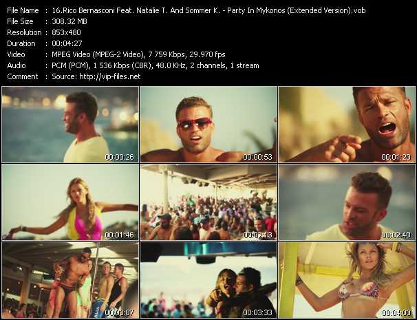 Rico Bernasconi Feat. Natalie T. And Sommer K. video screenshot