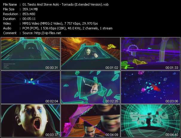 Tiesto And Steve Aoki video screenshot