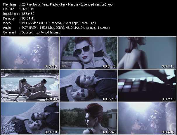Pink Noisy Feat. Radio Killer video screenshot