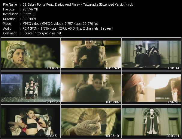 Gabry Ponte Feat. Darius And Finlay video screenshot