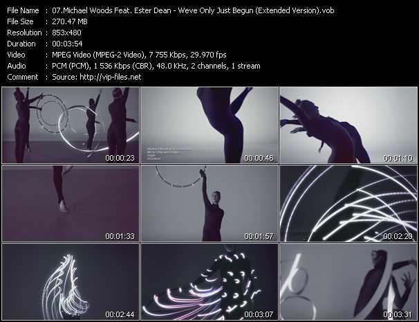 Michael Woods Feat. Ester Dean video screenshot
