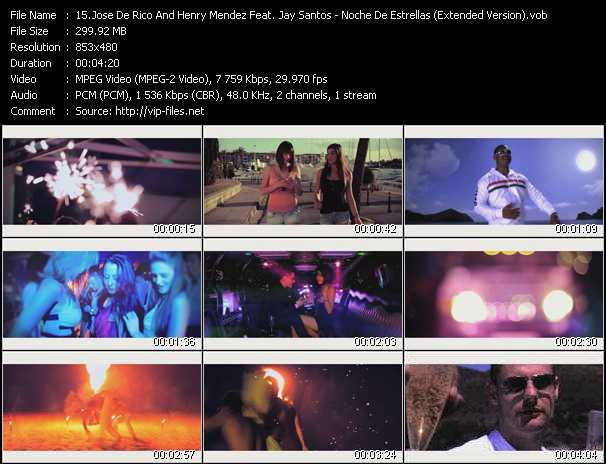 Jose De Rico And Henry Mendez Feat. Jay Santos video screenshot
