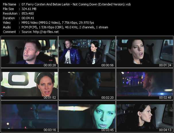 Ferry Corsten And Betsie Larkin video screenshot