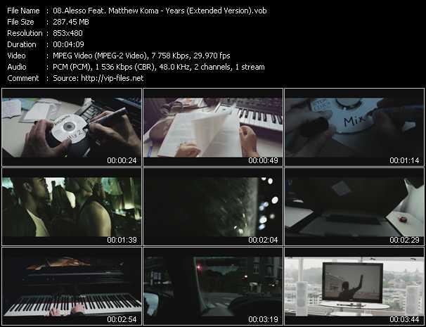 Alesso Feat. Matthew Koma video screenshot
