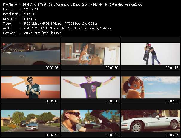 G And G Feat. Gary Wright And Baby Brown video screenshot