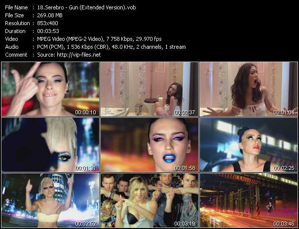 Serebro video screenshot