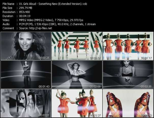 Girls Aloud video screenshot