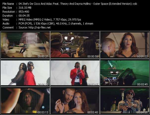 Stefy De Cicco And Adax Feat. Theory And Dayna Hollins video screenshot