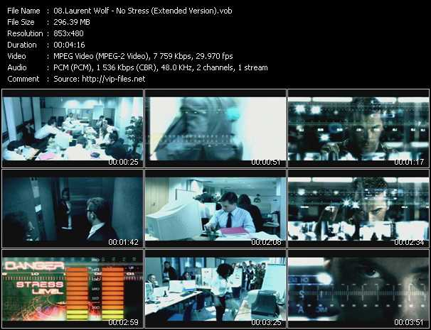 Laurent Wolf video screenshot