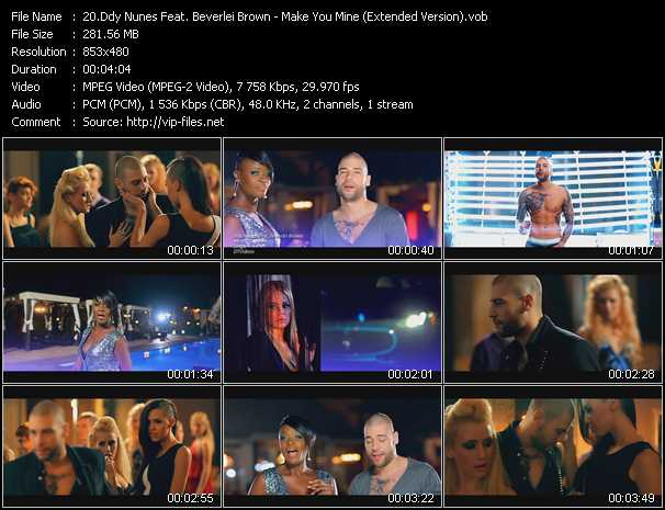Ddy Nunes Feat. Beverlei Brown video screenshot
