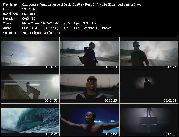 Ludacris Feat. Usher And David Guetta video screenshot