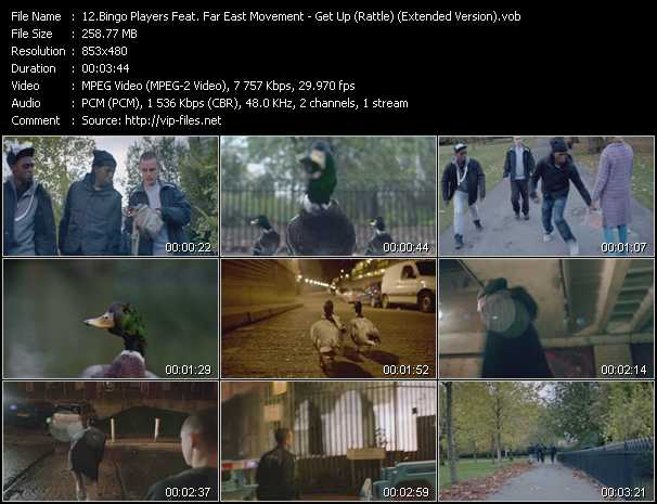 Bingo Players Feat. Far East Movement video screenshot