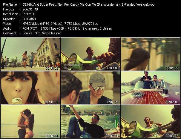 Milk And Sugar Feat. Neri Per Caso video screenshot
