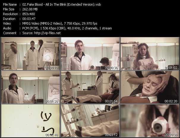 Fake Blood video screenshot