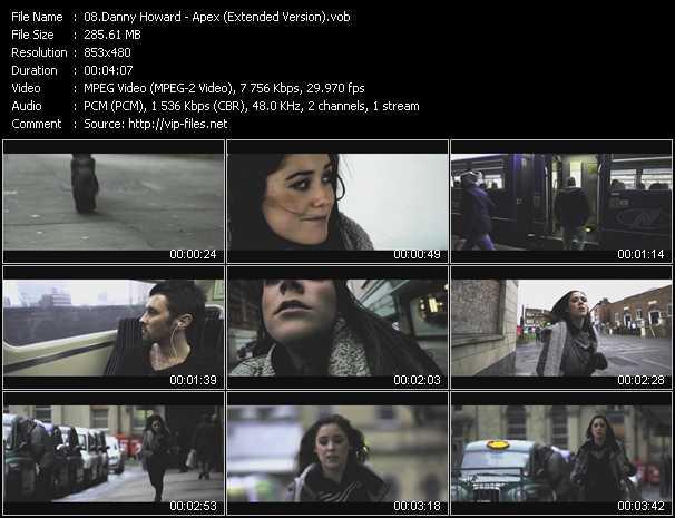 Danny Howard video screenshot