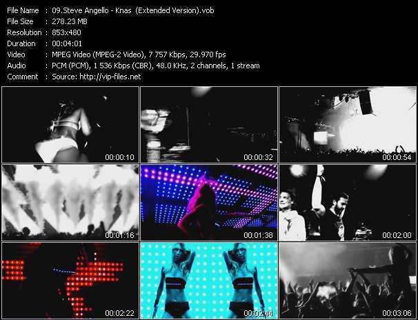 Steve Angello video screenshot