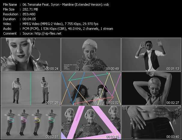 Tensnake Feat. Syron video screenshot