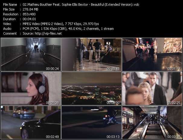 Mathieu Bouthier Feat. Sophie Ellis-Bextor video screenshot