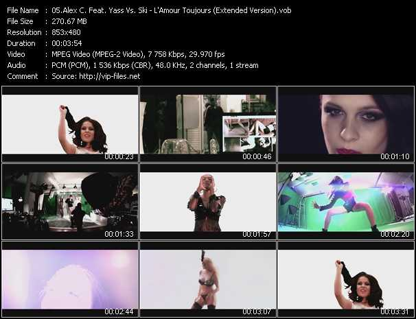 Alex C. Feat. Yasmin K. (Y-Ass) Vs. Ski video screenshot