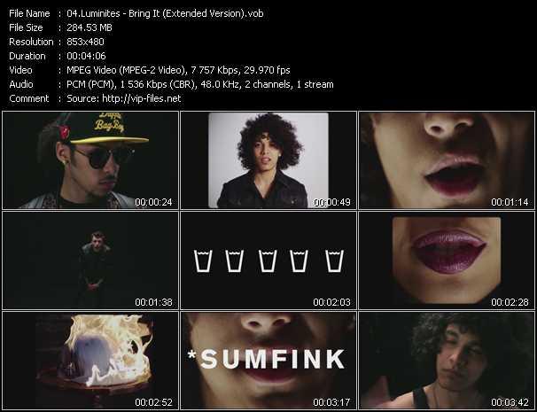Luminites video screenshot