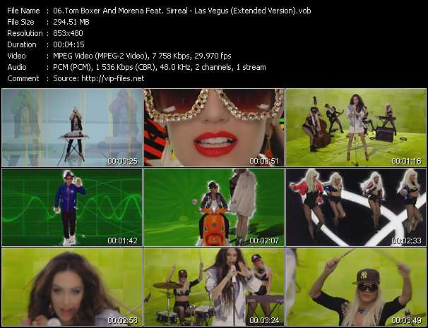 Tom Boxer And Morena Feat. Sirreal video screenshot
