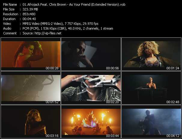 Afrojack Feat. Chris Brown video screenshot