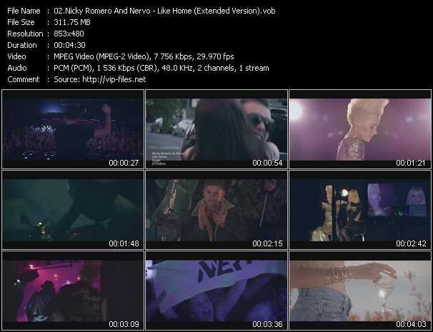 Nicky Romero And Nervo video screenshot