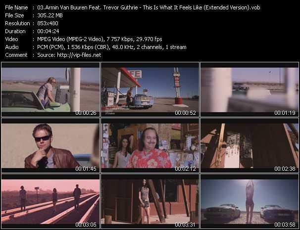 Armin Van Buuren Feat. Trevor Guthrie video screenshot