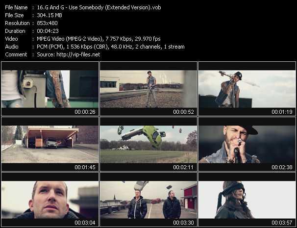 G And G video screenshot