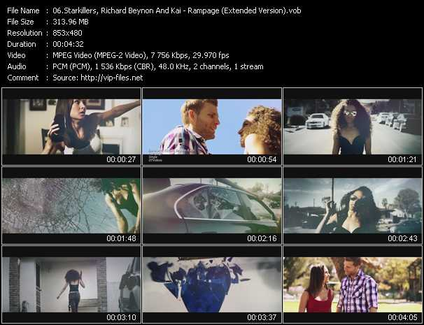 Starkillers, Richard Beynon And Kai video screenshot
