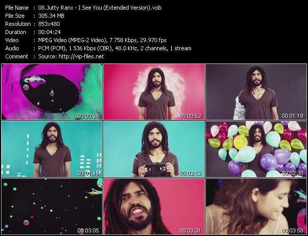 Jutty Ranx video screenshot