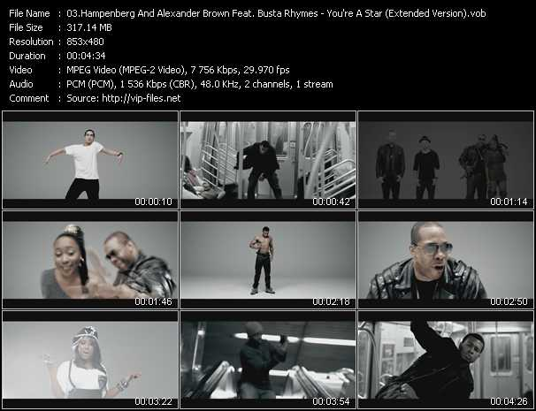 Hampenberg And Alexander Brown Feat. Busta Rhymes And Shonie video screenshot
