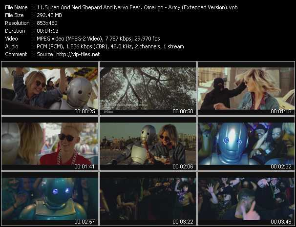 Sultan And Ned Shepard And Nervo Feat. Omarion video screenshot