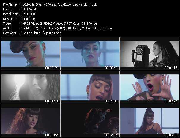Nuria Swan video screenshot