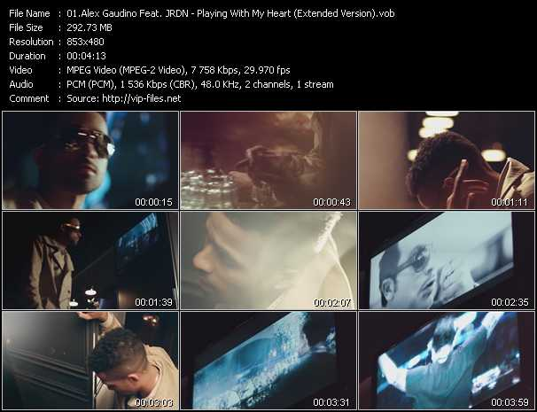Alex Gaudino Feat. JRDN video screenshot