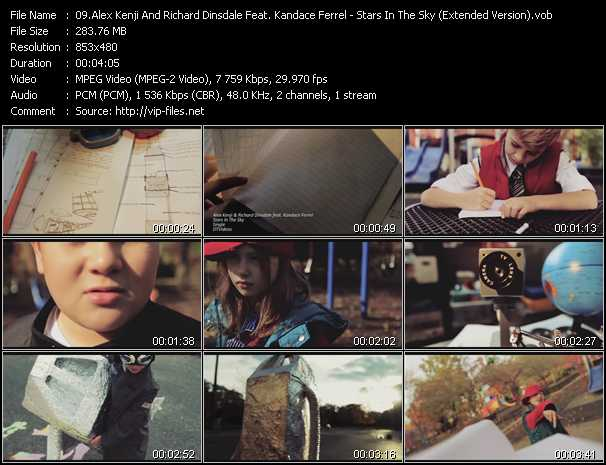 Alex Kenji And Richard Dinsdale Feat. Kandace Ferrel video screenshot