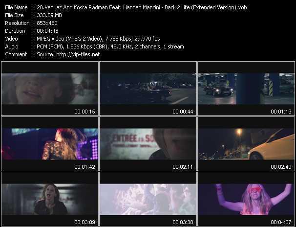 Vanillaz And Kosta Radman Feat. Hannah Mancini video screenshot