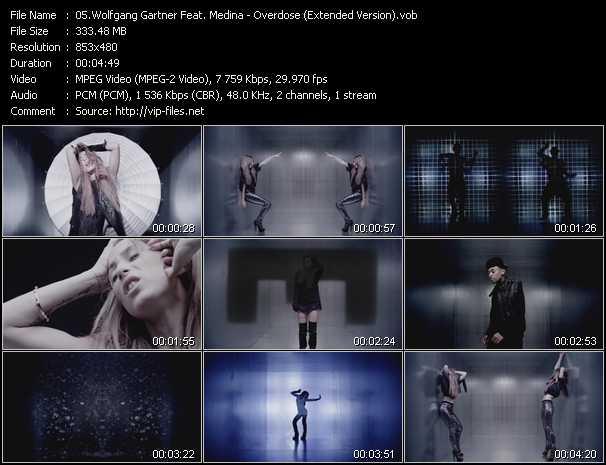 Wolfgang Gartner Feat. Medina video screenshot