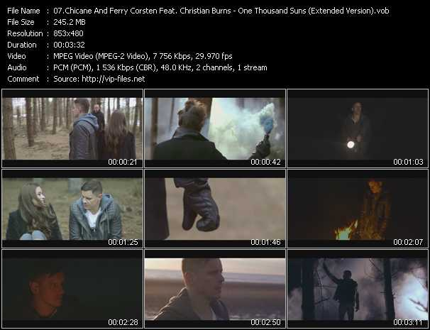 Chicane And Ferry Corsten Feat. Christian Burns video screenshot