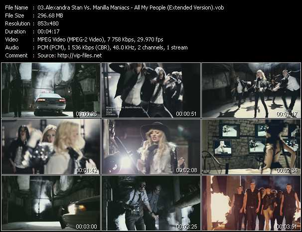 Alexandra Stan Vs. Manilla Maniacs video screenshot