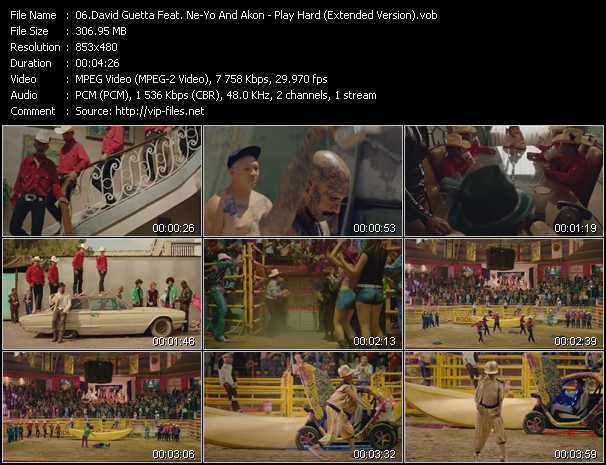 David Guetta Feat. Ne-Yo And Akon video screenshot