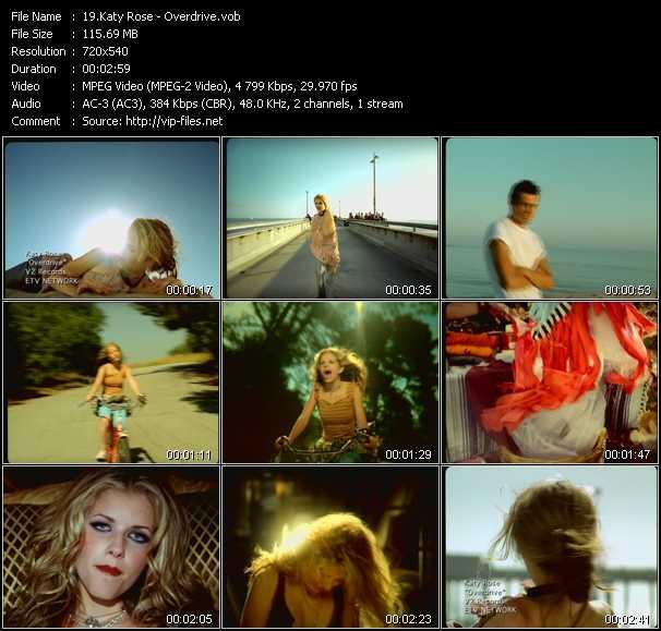 Katy Rose video screenshot